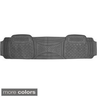 Diamond Style Rugged Rubber 1-piece Car Floor Mat