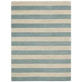 Barclay Butera by Nourison Ripple Seascape Rug (7'9 x 10'10)