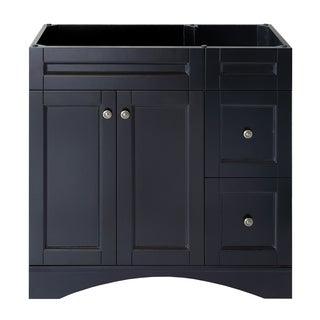 Virtu Usa Elise 48 Inch Espresso Bathroom Cabinet
