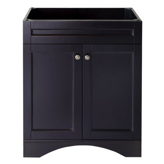 Virtu USA Elise 30-inch Espresso Single-sink Bathroom Vanity Cabinet