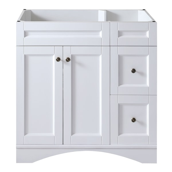 Virtu usa elise 36 inch white single sink bathroom vanity Virtu usa caroline 36 inch single sink bathroom vanity set