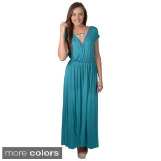 Hailey Jeans Co. Junior's Tulip Front Sleeveless Maxi Dress