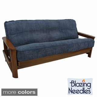 Blazing Needles Solid Chenille Rope Corded 8 to 10 inches Futon Cover