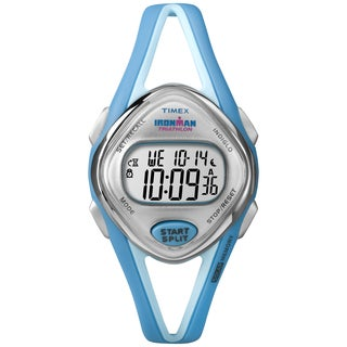Timex Women's 'Ironman' Sleek Mid-Size Turquoise Watch