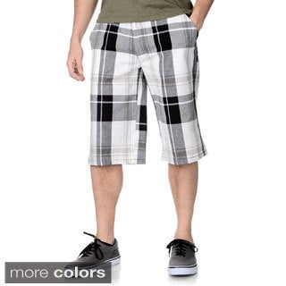Burnside Men's Plaid Shorts