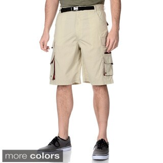 Barrington Men's Built-in Belt Cargo Shorts