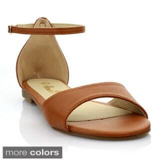 Anna Women's 'Kana' Basic Casual Sandals