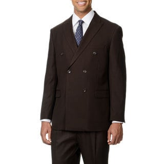 Caravelli Italy Men's Dark Brown Vested 2-button Suit