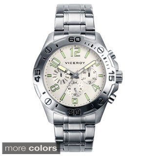 Viceroy Men's Day Date Stainless Steel Watch