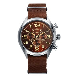 Viceroy Men's Brown Multifunction Watch