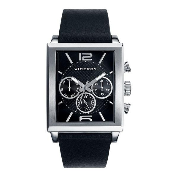 Viceroy Men's Black Multifunction Watch