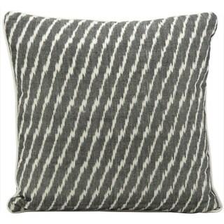 Nourison Mina Victory Lifestyle Black 18x18-inch Throw Pillow