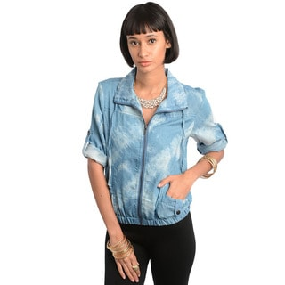 Feellib Women's Denim Jacket Top