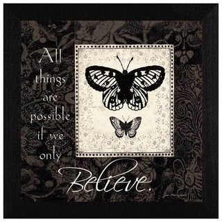 Jo Moulton 'Believe' Framed Wall Art