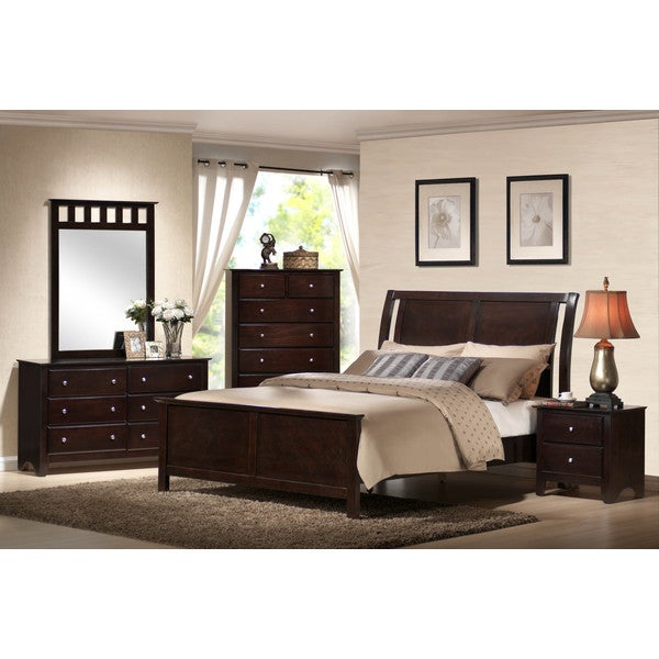 Emerald Kingston  Piece Bedroom Set Free Shipping Today Overstock