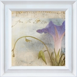 Thea Schrack 'Morning Glory I' Framed Wall Art