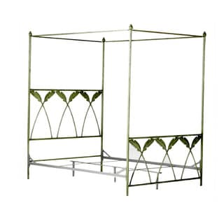 Corsican 43634 Queen/ King Palm Leaf Canopy Bed