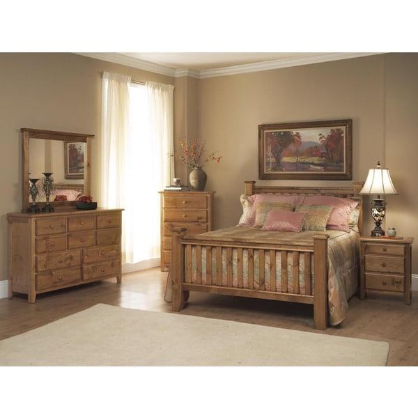 Emerald Pine Creek Rustic 5-piece Bedroom Set