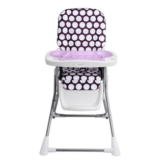 Evenflo Compact High Chair in Polka Dottie Purple
