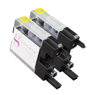 Sophia Global Brother LC79 Compatible Black Ink Cartridge Replacements (Pack of 2)