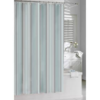 Emily Cotton Stripe Shower Curtain