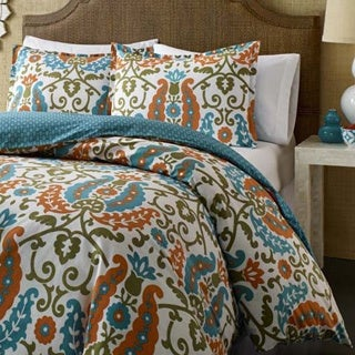 City Scene Constantine Cotton 3-piece Duvet Cover Set