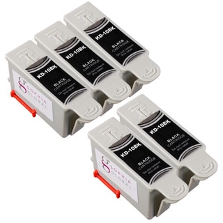 Sophia Global Kodak 10XL Compatible Black Ink Cartridge Replacements (Pack of 5)