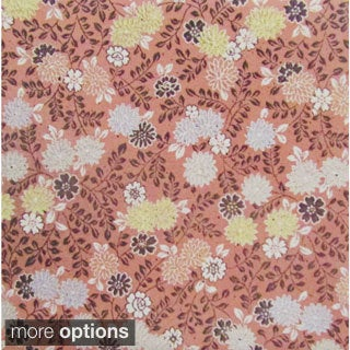 Tranquil Floral Pattern Ceramic Wall Tiles (Pack of 20) (Samples Available)