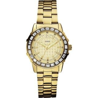 Guess Women's W0018L2 Dress Gold Watch