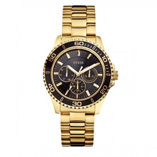 Guess Women's W0231L3 Sports Gold Chronograph Watch