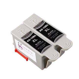 Sophia Global Kodak 10XL Compatible Black Ink Cartridge Replacements (Pack of 2)