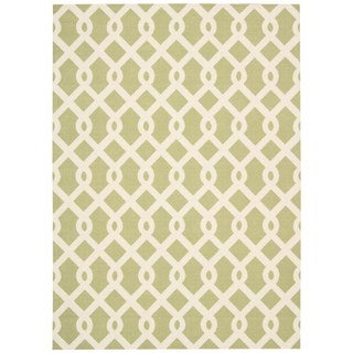 Waverly Sun N Shade Solar Flair Jade Area Rug By Nourison