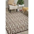 Nourison Waverly Sun and Shade Flint Rug (7'9 x 10'10)