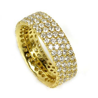 Sonia Bitton 18k Yellow Gold Pave Diamond Designer Ring (G-H, SI1-SI2)