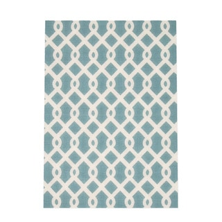 Waverly Sun N' Shade by Nourison Poolside Indoor/Outdoor Rug (5'3 x 7'5)