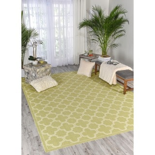 Nourison Waverly Sun and Shade Garden Rug (5'3 x 7'5)