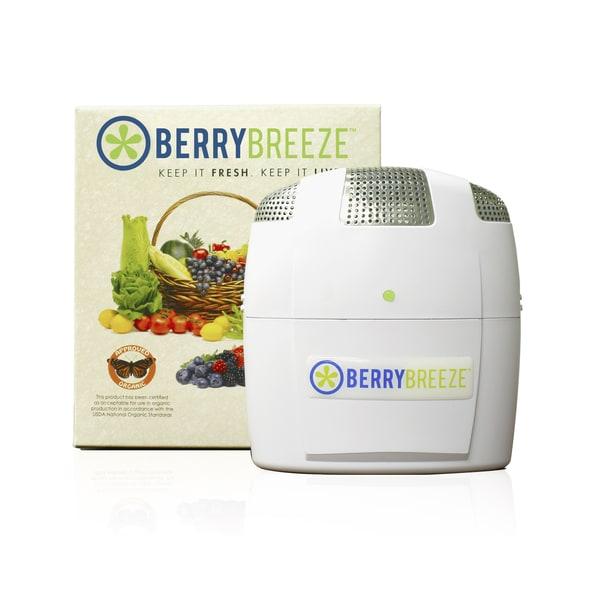 BerryBreeze BB-100 White Activated Oxygen Refrigerator Deodorizer 12494880