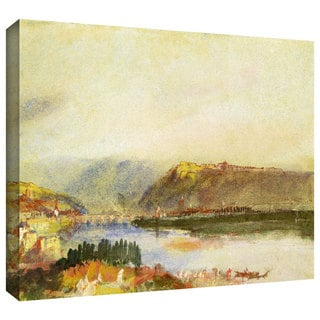 William Turner 'Givet from the North' Gallery-wrapped Canvas Art