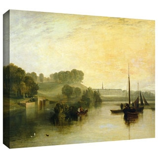 William Turner 'Petworth, Sussex, the Seat of the Earl of Egremont Dewy Morning' Gallery-wrapped Canvas Art