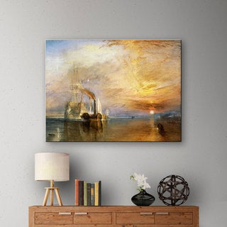 William Turner 'The Fighting Temeraire' Gallery-wrapped Canvas Art
