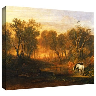 William Turner 'The Forest of Bere' Gallery-wrapped Canvas Art