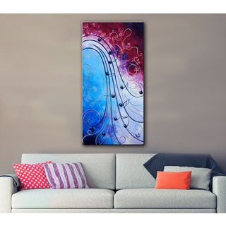 Shiela Gosselin 'Music' Gallery-wrapped Canvas Art