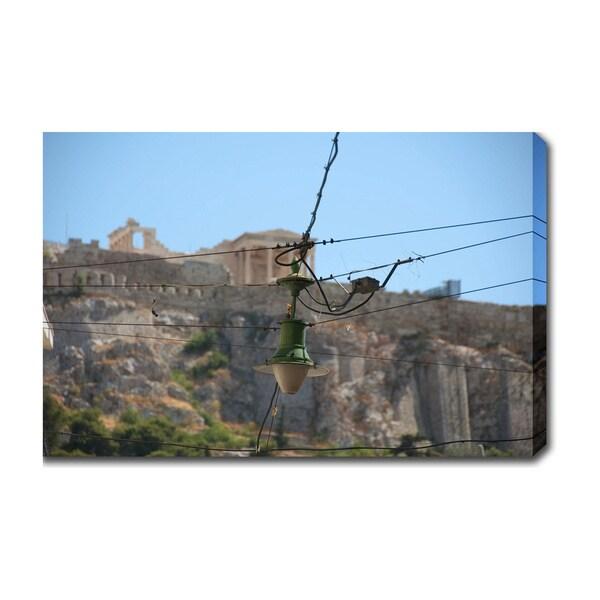 'Acropolis, Athens' Canvas Art