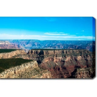 'The Majestic Grand Canyon' Gallery-wrapped Canvas Art