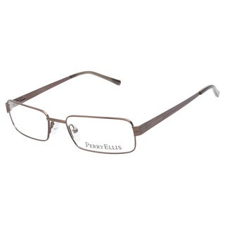 Perry Ellis 293 1 Dark Brown Prescription Eyeglasses