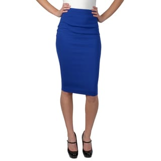 Hailey Jeans Co. Junior's Elastic Waist Pencil Skirt