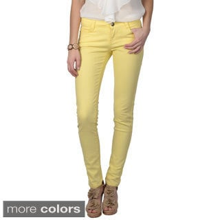 Hailey Jeans Co. Junior's Stretchy Solid Color Skinny Pants