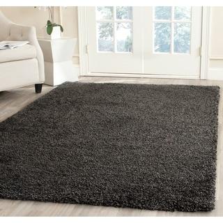 Safavieh Milan Shag Dark Grey Rug (5'1 x 8')