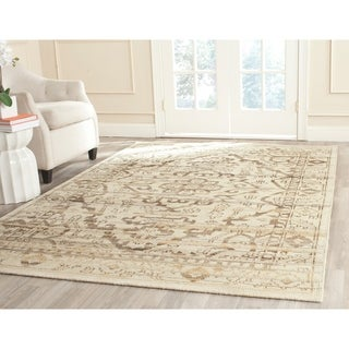 Safavieh Hand-woven Kenya Natural Wool Rug (8' x 10')