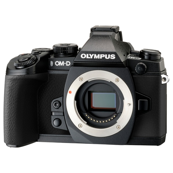 Olympus OM-D E-M1 16.3 Megapixel Mirrorless Camera Body Only (Body On